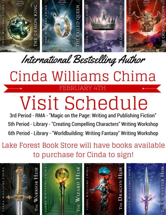 Chima LFHS schedule