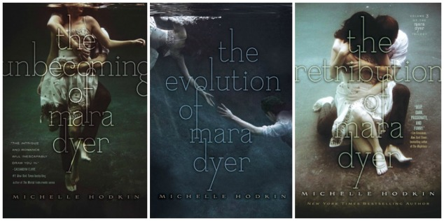 mara dyer trilogy banner